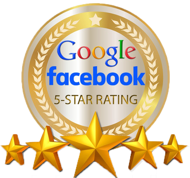 Google Facebook 5 star raing