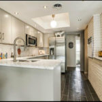 Bianco Carrera Marble Kitchen Countertops