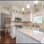 Bianco Romano Granite Kitchen Coutertops