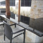 Black Pearl Granite Outdoor Kitchen Countertops