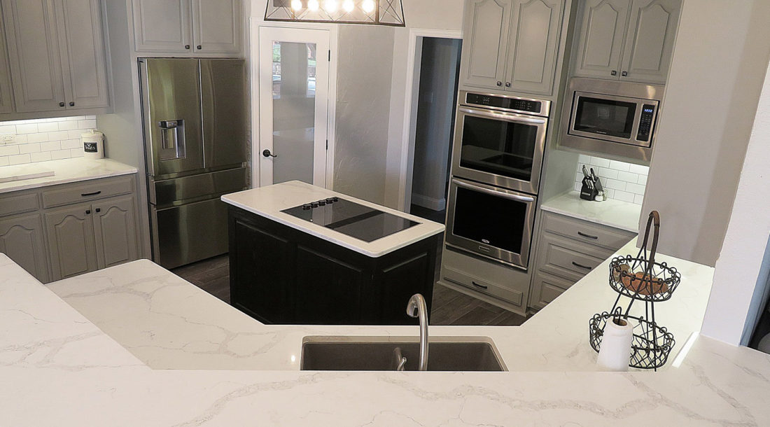 Calacatta Verona Quartz Kitchen Countertops