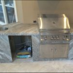 Fantasy Brown Granite Outdoor Kitchen Countertops