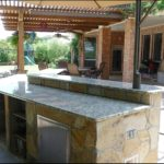 Giallo Napolean Granite Outdoor Kitchen Countertops