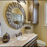 Light Emperador Marble Bath Vanities