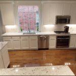 MayFair White Granite Kitchen Countertops