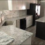 Orion White Granite Kitchen Countertops