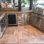 Santa Cecelia Outdoor Kitchen Countertops