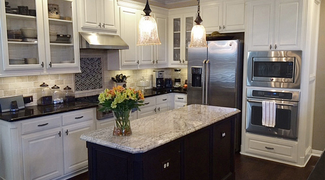 Sierra Granada Granite Kitchen Countertops
