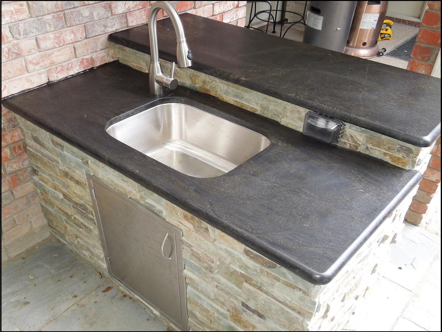 Outdoor Kitchen Countertops Granite