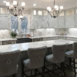 Statuario White Quartzite Kitchen Countertops