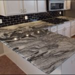 Viscount White Granite Kitchen Countertops