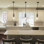 White Pearl Quartzite Kitchen Countertops